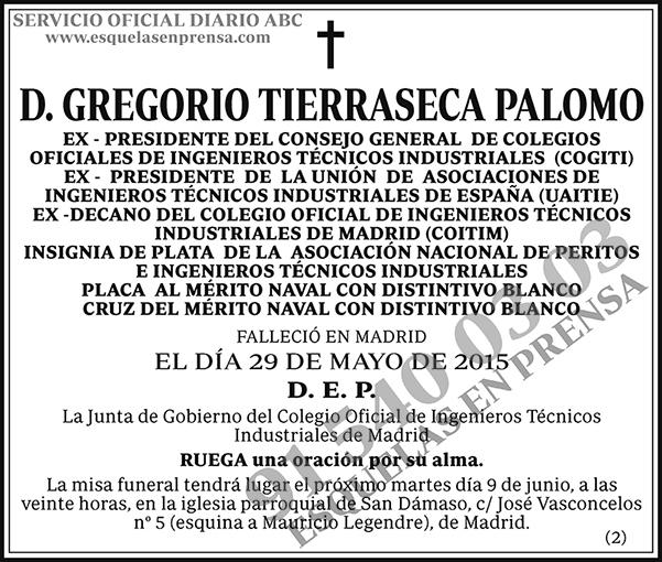 Gregorio Tierraseca Palomo